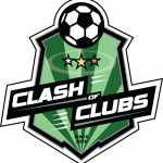 CLASH OF CLUBS LOGO GREEN
